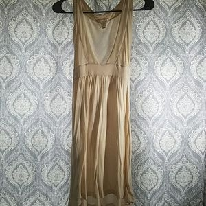 Lux deep v dress